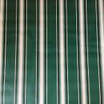 Napernyő vászon zöld fehér mintás
