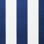 Napernyő vászon kék fehér mintás